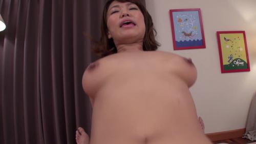 岡沢リナと騎乗位セックス