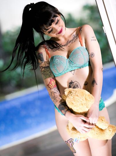 ブラジル美女Jessica Beppler